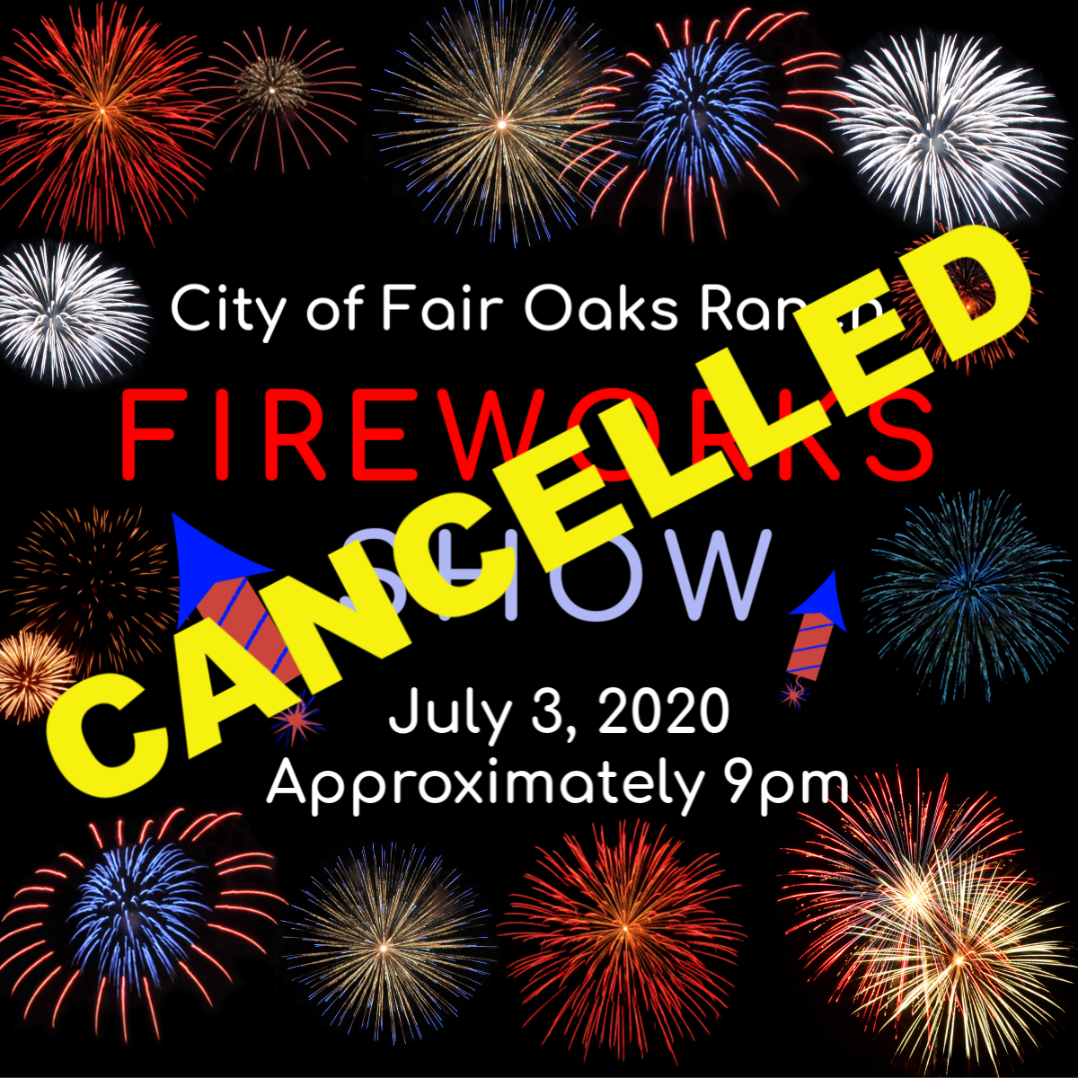 Cancelled Fireworks Show